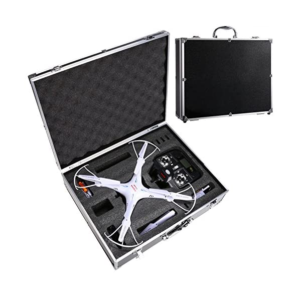 Voomall-Aluminum-Protective-Carrying-Case-for-Syma-X5-X5C-X5SC-X5SW-X5HC-X5HW-RC-Drone