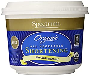 Spectrum Organic Shortening -- 24 oz - 1 Pack