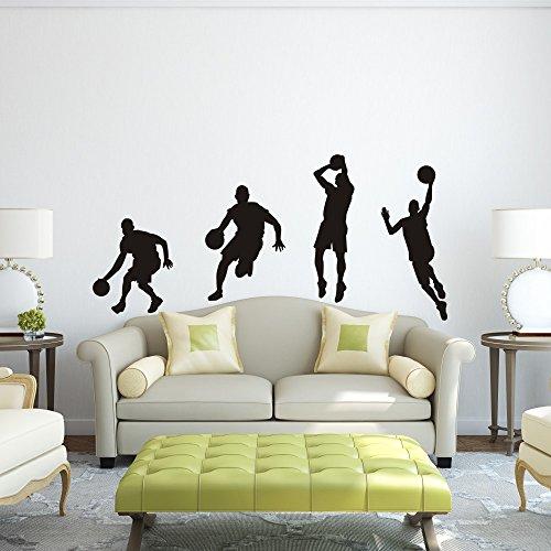vinile-adesivo-da-parete-basket-basket-azione-decorazione-da-parete-dribble-lay-up-basket-adesivi-da