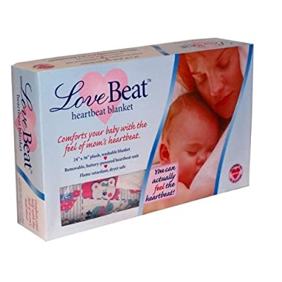Love Beat Heartbeat Baby Blanket