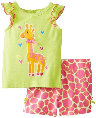 18-24M Zutano Baby Girls Short Sleeve Cupcake Tops 12-18