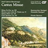 Rheinberger: Cantus Missae