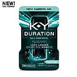 K-Y Duration Gel for Men - Male Genital Desensitizer, 36 pumps / .16oz (Condom Safe), Endurance Enhancer To Help You Last Longer & Enjoy The Moment, Latex Condom Compatible, Climax Control & Delay Gel