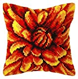 Marigold Cushion Front Chunky Cross Stitch Kit