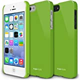 RINGKE SLIM Apple iPhone 5 / 5S Case [LF Green] SUPER SLIM + LF COATED + PERFECT FIT Premium Hard Case Cover for Apple iPhone 5 / 5S [AT&T, Verizon, Sprint, Unlocked, ECO Package]