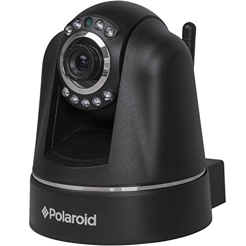 Polaroid IP201B Wireless Wifi N Pan/Tilt Indoor IP Camera With Night Vision, Motion Detection & Two-Way Audio (Black) - 1