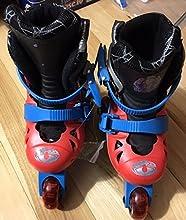 2 In1 Function - Spider Man 2 in 1 Skate Rollerblade Roller-Skate RedBlue