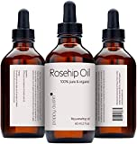 Poppy Austin® Organic Rosehip Oil. 100% Pure, Cold Pressed, Responsibly Sourced and Made By Hand. To Soften, Hydrate and Heal Your Entire Body, Best for Dry Skin, Fine Lines and Acne Scars, 2 Fl.oz