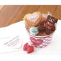 Scented Cookie Shape Candle Gift Set