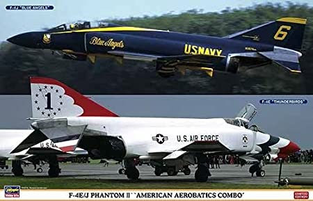 "Maquettes avions : F-4E/J Phantom II Combo : ""Thunderbirds/Blue Angels"" Limited Edition"