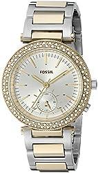 Fossil Women's ES3850 Urban Traveler Multifunction Stainless Steel Watch