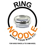 Ring Guard by RING NOODLE (wide) - Ring Size Reducer, Ring Guard, Ring Size Adjuster