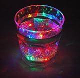 光るグラス! LED 発光 グラス 液体感知 BAR 誕生日 パーティー ハロウィン 結婚式 クリスマス 忘年会 などに! [N-ZAK-13]