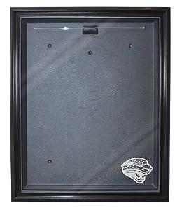 Jacksonville Jaguars Cabinet Style Jersey Display, Black by Caseworks