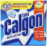 Calgon Two in One Water Softener 15 Tablets (Pack of Seven)