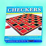 Checkers and Checkerboard Board Game