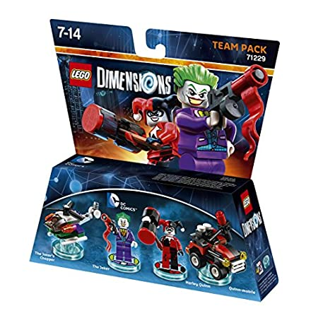 LEGO Dimensions: Team Pack DC Joker/Harley