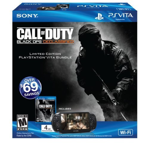 PS Vita Call Of Duty: Black Ops:Declassified Wi-Fi Bundle