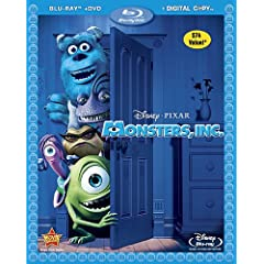 Monsters, Inc. (3-Disc Edition) [Blu-ray] (2001)