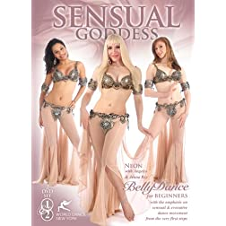 Sensual Goddess - Bellydance for Total Beginners, with Neon :: 2-DVD set :: 4 hrs, all non-stop movement with music