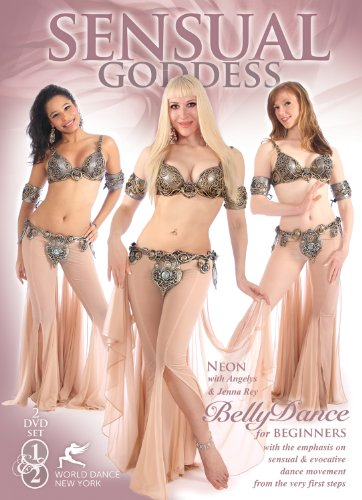 Sensual Goddess - Bellydance for Total Beginners, with Neon :: 2-DVD set :: 4 hrs, all non-stop movement with music [2012] [Region 1] [NTSC]