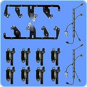 oem ignition coil pack 12573190 with bracket. Black Bedroom Furniture Sets. Home Design Ideas