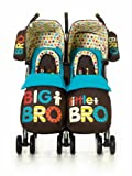 Cosatto Supa Dupa Twin Stroller (Big & Little Bro)