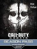 Call of Duty Ghosts Season Pass Card - Playstation 4 & Playstation 3