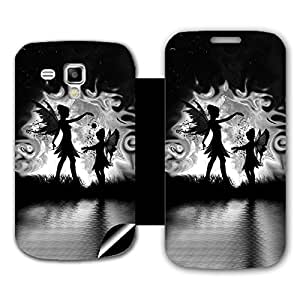 Phone Candy Designer Flip Cover with hi-res printed Vinyl sticker wrap-around for Samsung Galaxy S Duos 2 S7582