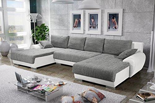 Sofa-Couchgarnitur-Couch-Sofagarnitur-LEON-4-U-Polstergarnitur-Polsterecke-Wohnlandschaft-mit-Schlaffunktion