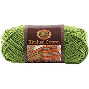 Lion Brand Yarn Company 1-Piece Kitchen Cotton Yarn, Snap