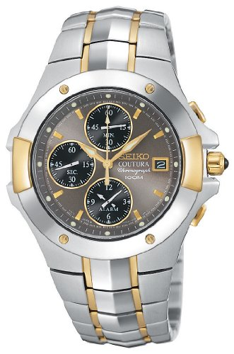 SEIKO Watches:Men's Seiko Coutura Two Tone Chronograph Watch Images