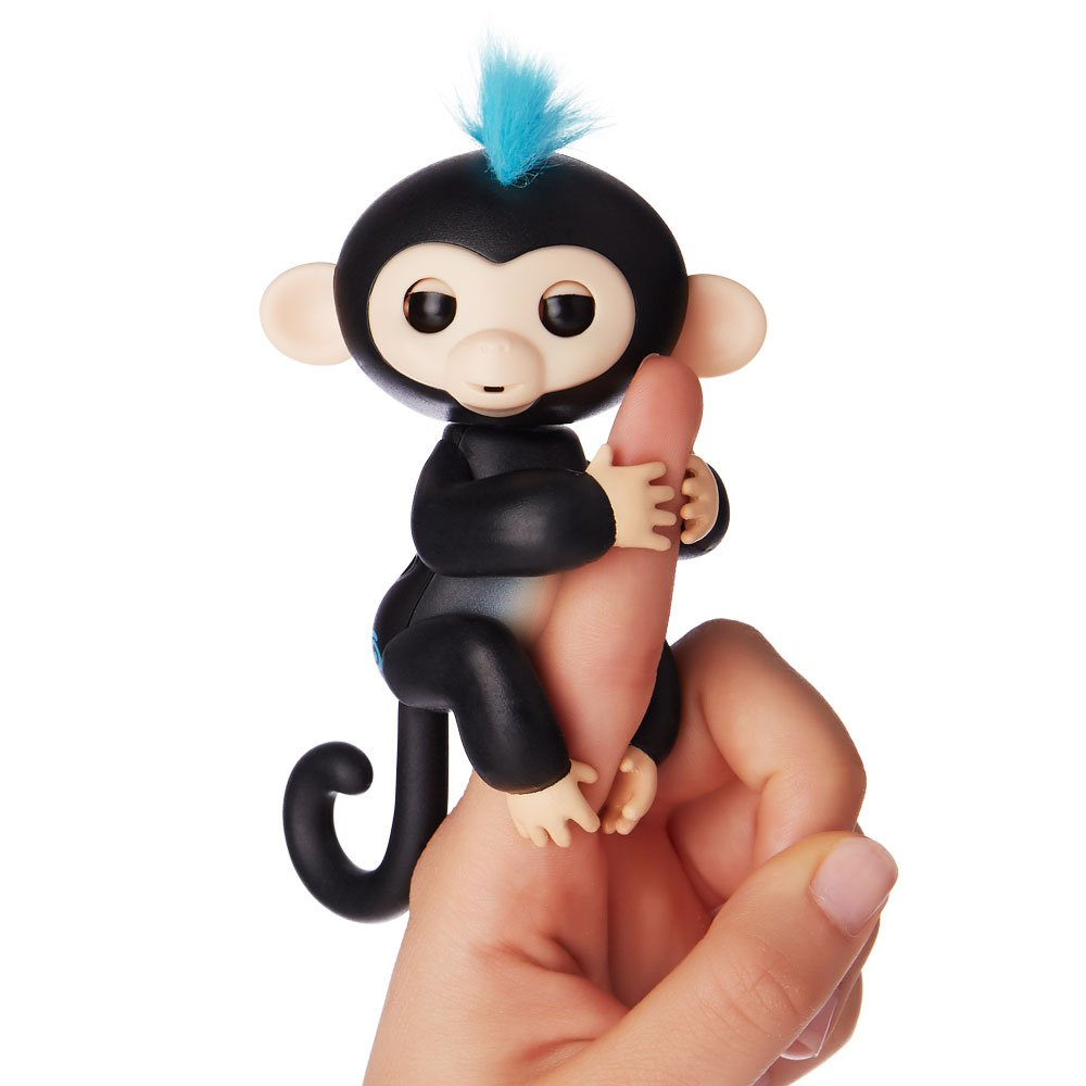 Black Finn Fingerlings Interactive Baby Monkey