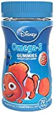 Disney omega-3 Gummies, 70 Count