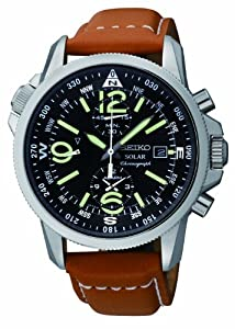 Seiko Men's SSC081 Adventure-Solar Classic Watch