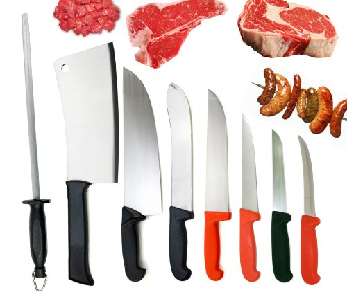 DELUXE BUTCHER'S KNIFE SET BY DOLOMITEN INOX