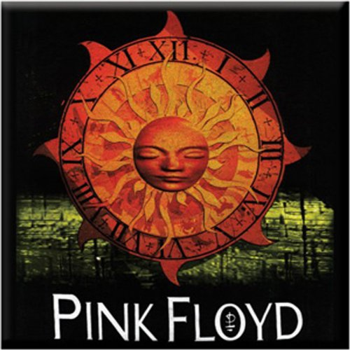 Licenses Products Pink Floyd Sun Magnet - 1