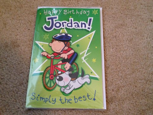 Happy Birthday Jordan - Singing Birthday Card