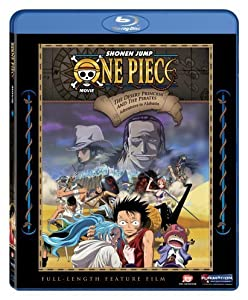 One Piece: The Princess and the Pirates - Adventures in Alabasta Movie #8 [Blu-ray]