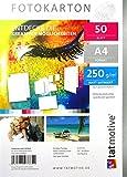 TATMOTIVE F01M50 Fotokarton Fotopapier 250g matt weiß