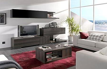 Mueble de salón en Roble Antracita