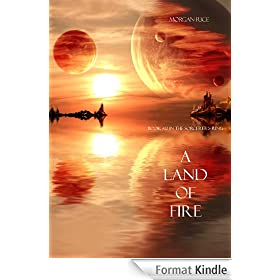 A Land of Fire (Book #12 in the Sorcerer's Ring) (English Edition)