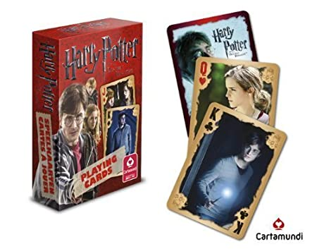 Top Deck Cards :  HARRY POTTER PLAYING CARDS  review and features