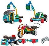 Top Race® ferngesteuerte RC Blocks, Fahrzeugbauset. Baue...