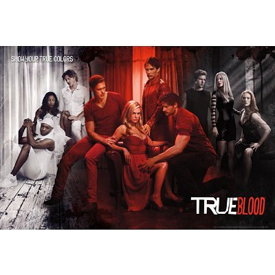 True Blood - True Colors Poster Poster Print, 36x24