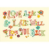 Dimensions Embroidery Kit Love Life
