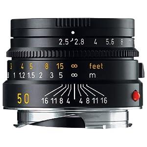 Leica 50mm / f2.5 Black