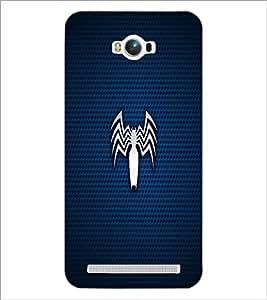 PrintDhaba Spider D-1656 Back Case Cover for ASUS ZENFONE MAX ZC550KL (Multi-Coloured)