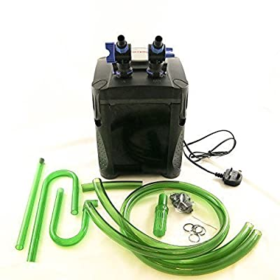 Jebao One Touch External Fish Tank Canister Aquarium Filter System 20w 1000 LPH