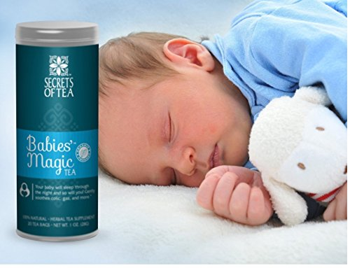 Baby colic : Baby will sleep through the night and so will you/ Babies' Magic Tea is a must have for every mom - 1